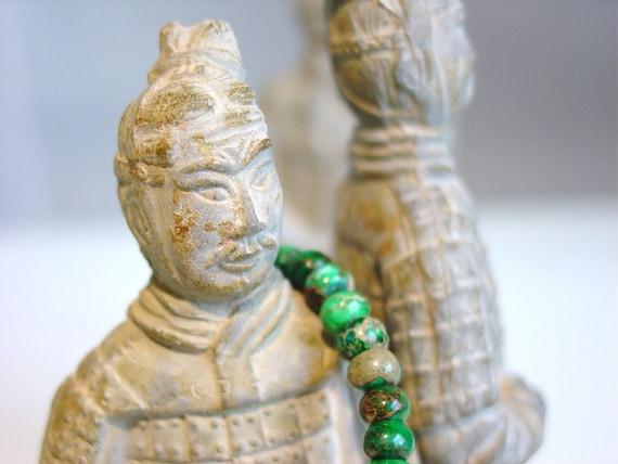 Green Jasper Bracelet / Simple Jasper Bracelet / Jasper Stacking Bracelet / Genuine Stones / Genuine Jasper / Green / Moss / Taupe / Matrix