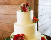Cardinal Birds Wedding Cake Topper As Seen in Kentucky Bride Magazine