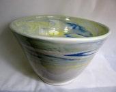 Large Colored Porcelain Bowl RKC021