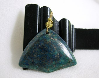 Lapis Lazuli Pendant RKMixables Copper Collection RKM345