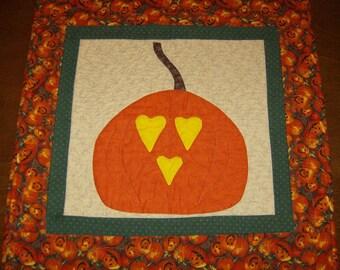 Folkart Pumpkin   CLEARANCE