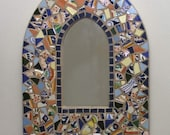 Talavara Mosaic Arch with Mirror