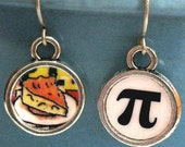 Pi Day Earrings Math Geek Pie Jewelry