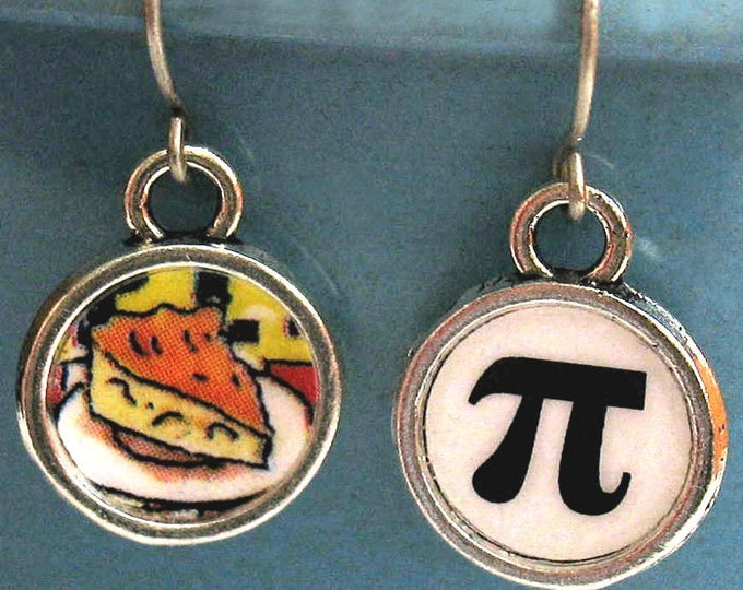 Pi Day Earrings Math Geek Jewelry