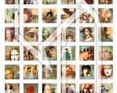 Altered Art Digital Collage Print Sheet no40