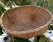 Large Round Storage Basket