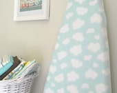 Organic Ironing Board Cover - Blue Yonder