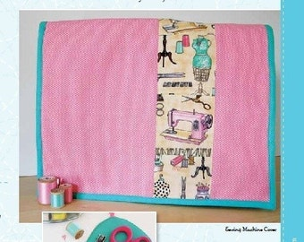Sewing Pattern - Ethel and Evelyn Sewing Machine Cover and Scissor Sleeve
