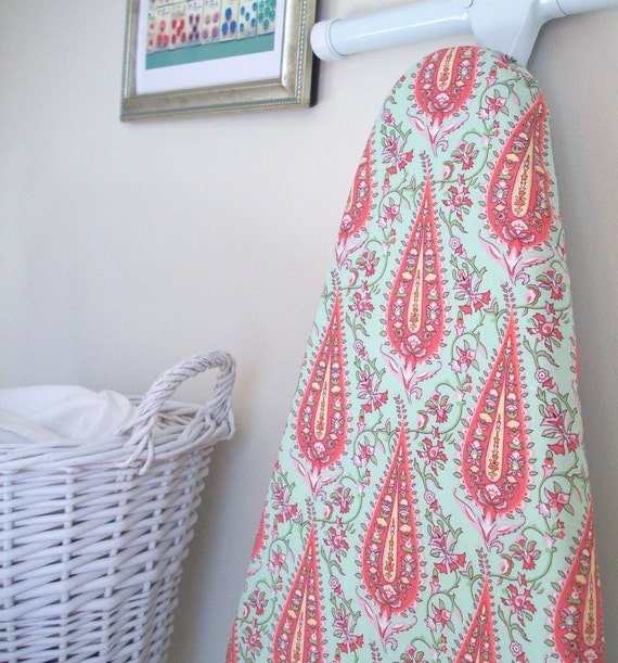 Paisley Ironing Board Cover in Blush