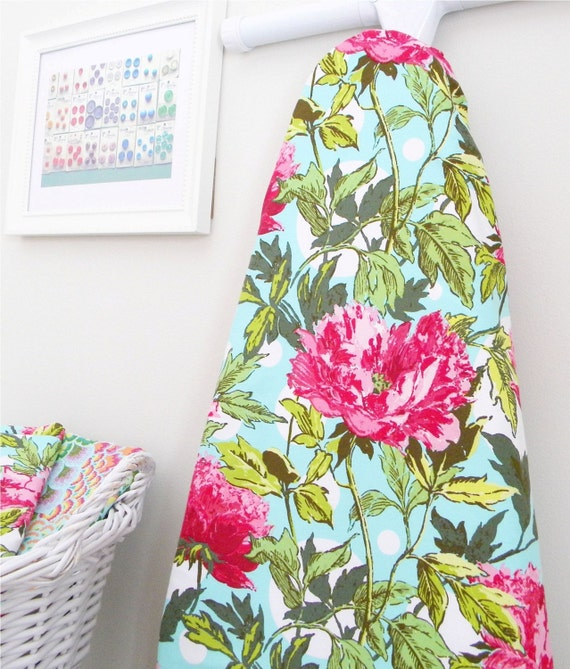 Ironing Board Cover - Twilight Peony