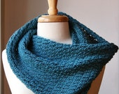 Infinity Scarf Knitting Pattern - Bridget Cowl / Snood / Scarf by Elena Rosenberg - PDF Knitting Pattern - Digital Download - AtelierTPK