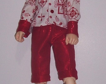 OOAk Christmas fashion set for 58 to 60cm Supe dollfie BJD boys