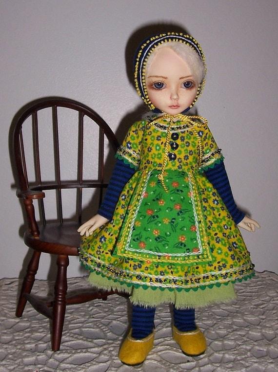 OOAk fashion set for 25cm YOSD BJD super dollfie girl