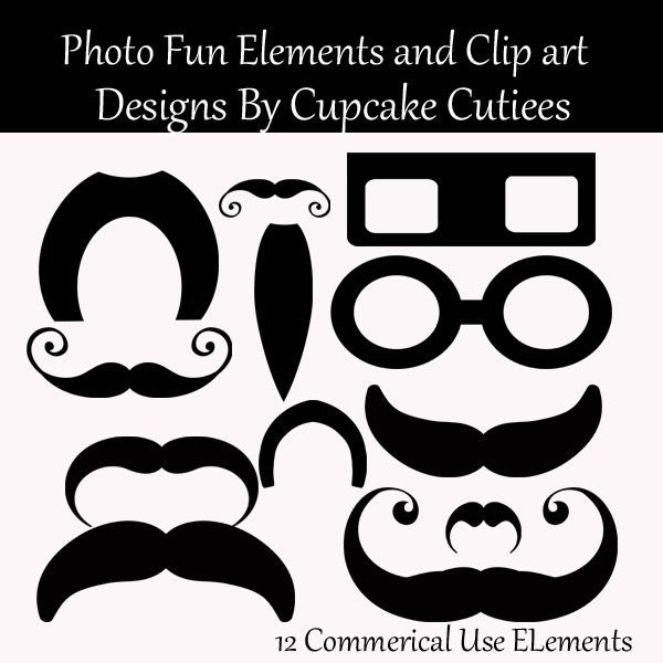 Fu Manchu Mustache Clip Art Mustache madness photo fun