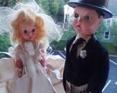 Vintage Wedding Dolls