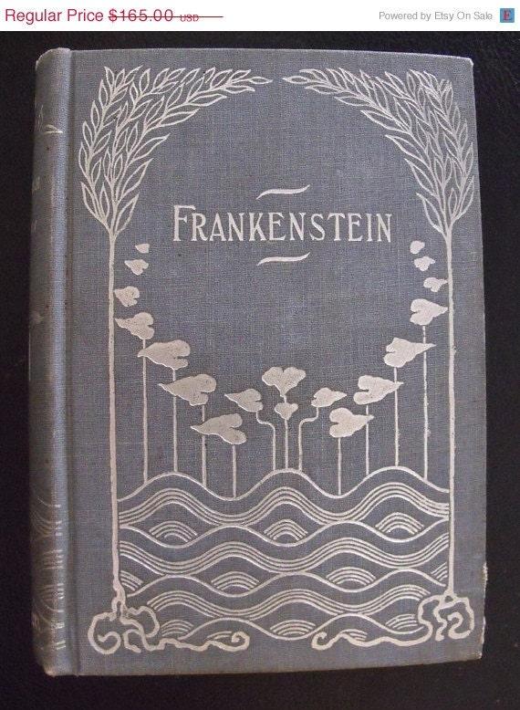 Frankenstein - c. 1895 - Rare art nouveau cover - Donohue - Very good condition