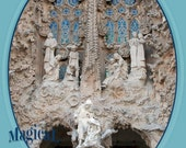 Nativity from La Sagrada Família, Barcelona, 8.5x11 Fine Art Print