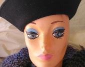 Black Wool Felt Hat