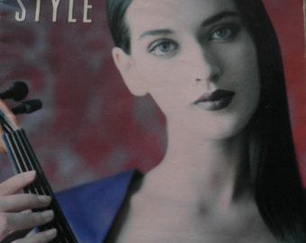 Vintage LA Style Magazine,  2nd Annual Music Issue,  November 1988