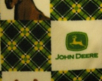 450+ Scarf Print Selection! Only at SylMarCreations!  John Deere Winter  Fleece Scarf Fleece on Every Fleece Scarf at SylMarCreations