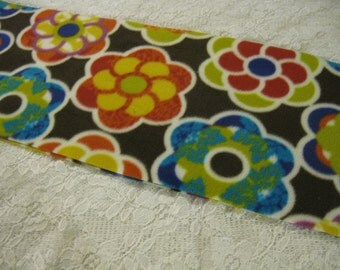 450+ Scarf Print Selection! Only at SylMarCreations!  Nouveau Hippie Flowers Winter  Fleece Scarf