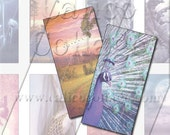 Mystic - Instant Download Printable Digital Collage Sheet- 1x2 Domino Tile Size 459