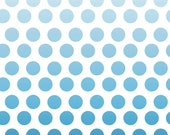 New Navy Ombre dots 1 yard Riley Blake.Great quality