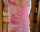 Nuno felted scarf summer brise