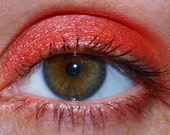 SHERBET Eyeshadow - Intense Coral/Orange Color - Vegan Friendly - 5 Gram Sifter Jar Filled All The Way To The Sifter