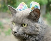 Pet Bow - Cat Bow - Bunny Bow - Chincilla Bow - Pastel Delight