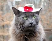 Hat for Cat - Cat Bonnet - Pet Bonnet