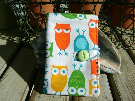 Tea Wallet-Urban Zoology/ Owls