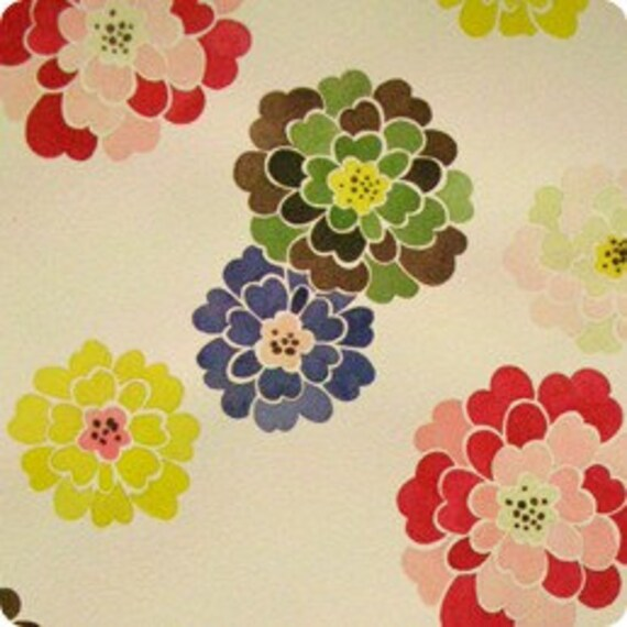 SALE Griffith Mum fabric by Alexander Henry, 29.5 ""