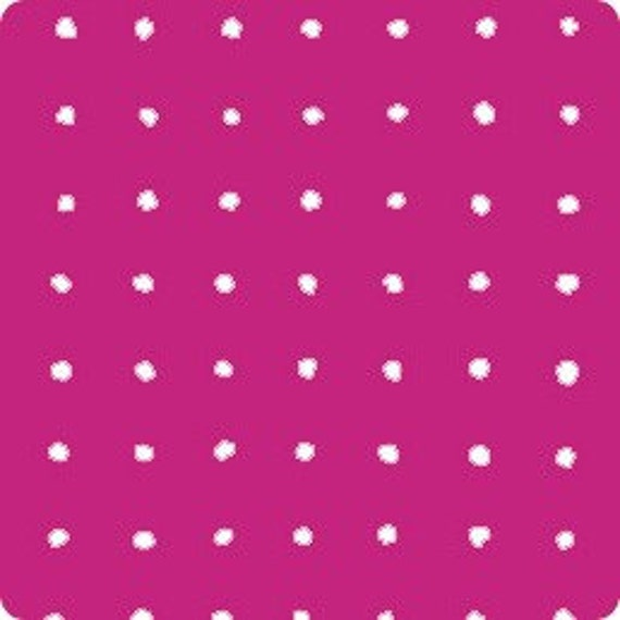 Custom listing for Annie - SALE June Dot in Pink fabric by Alexander Henry