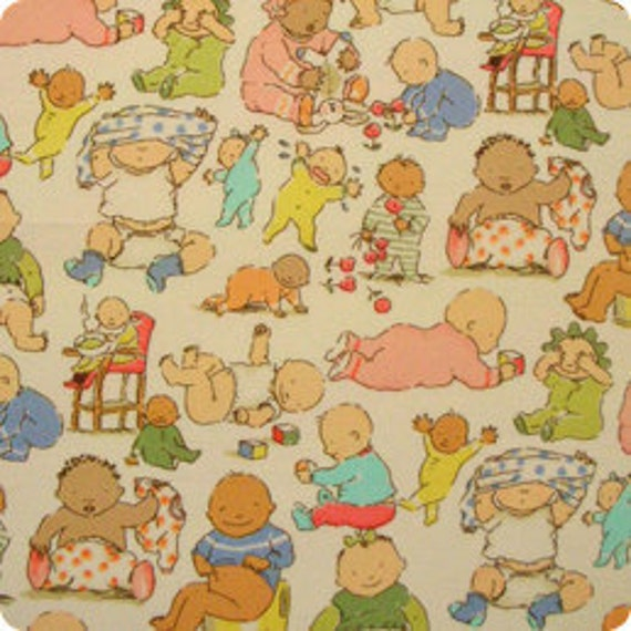 Custom listing for Beverly -Goo Goo in Pastel and Goo Goo Gear- fabric - Alexander Henry
