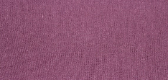 Natural Dyed Cotton Fabric in Purple, 1 yard