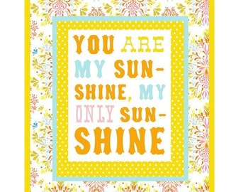 You Are My Sunshine art print | Nursery Decor | cheerful wall art