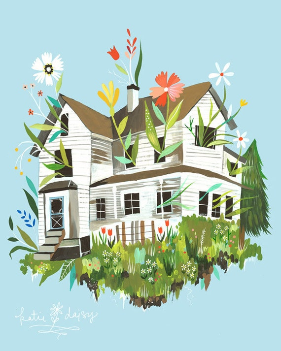 Magic Farmhouse    -   vertical print