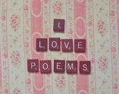 I Love Poems (5x7 Unframed Original Fine Art Photograph)