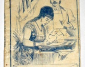Antique Instructional Booklet 1902 - How to Write Letters