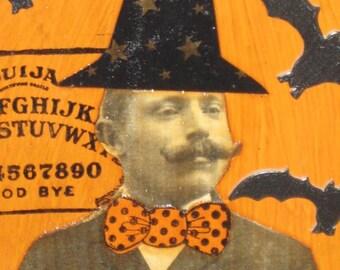 Halloween Plaque - Wizard - Warlock