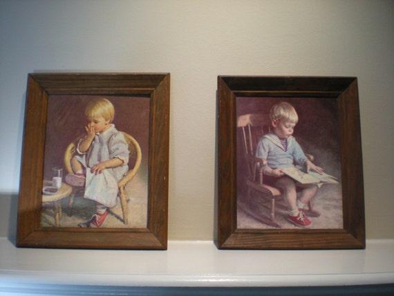 Sweet Vintage J Ingwersen Prints Gary And Gretchen