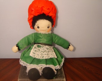 Ireland-- Vintage Handmade Irish Doll