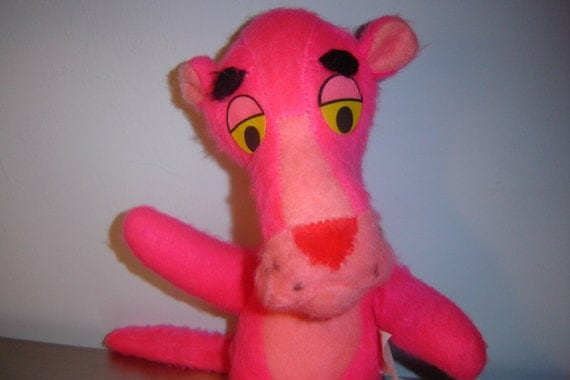 Rare 1964 Vintage Pink Panther By Mighty Star