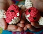 Keira Bird Rattle Plushie
