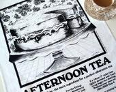 AFTERNOON TEA - Tea Towel