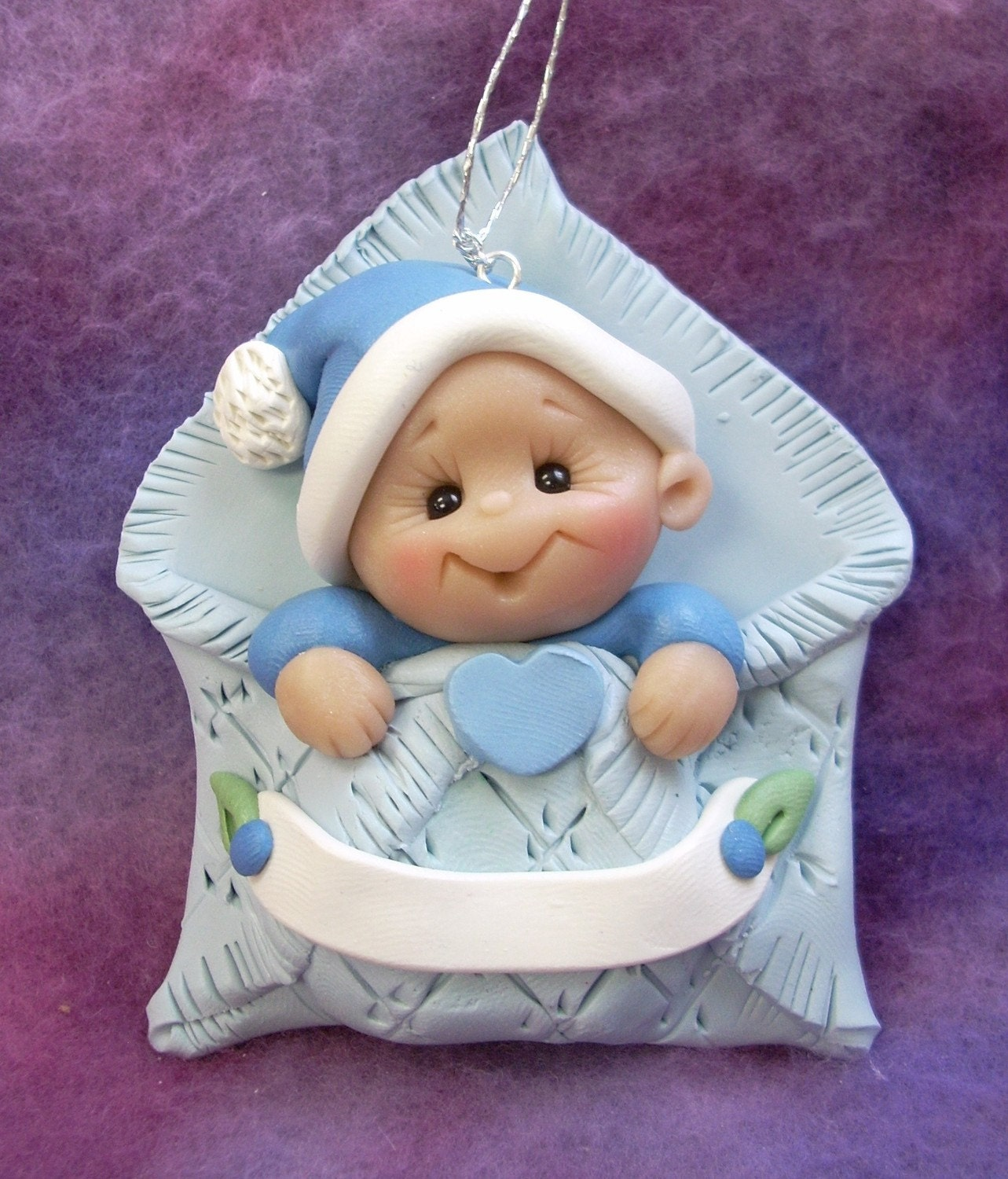 Baby S First Christmas Ornament Personalized Baby Gift