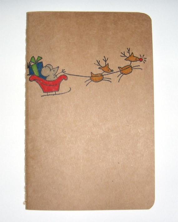 Santa Mouse Journal