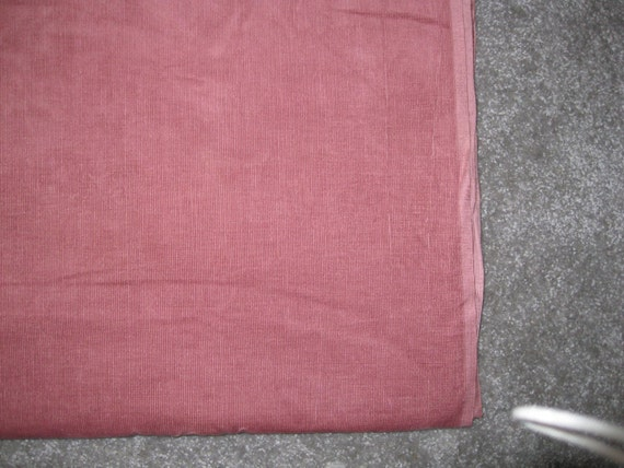 25% OFF at CHECKOUT Huge Over 7 yards Mauve Corduroy Fabric