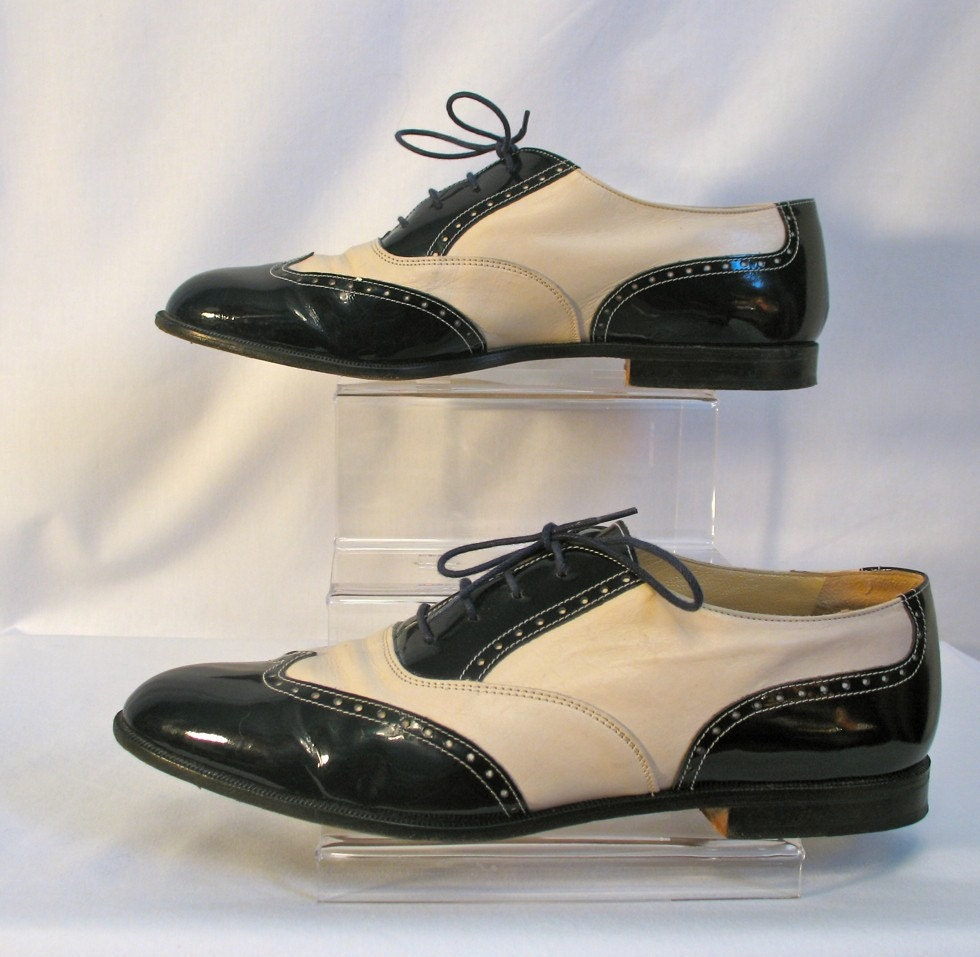 Church's 80s does 40s Swing Style Shoes 8 Mens